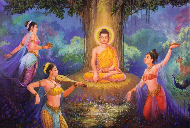buddhism and the origin of life Avijja (avidya) or ignorance in buddhism and how according to buddhism life comes into existence.