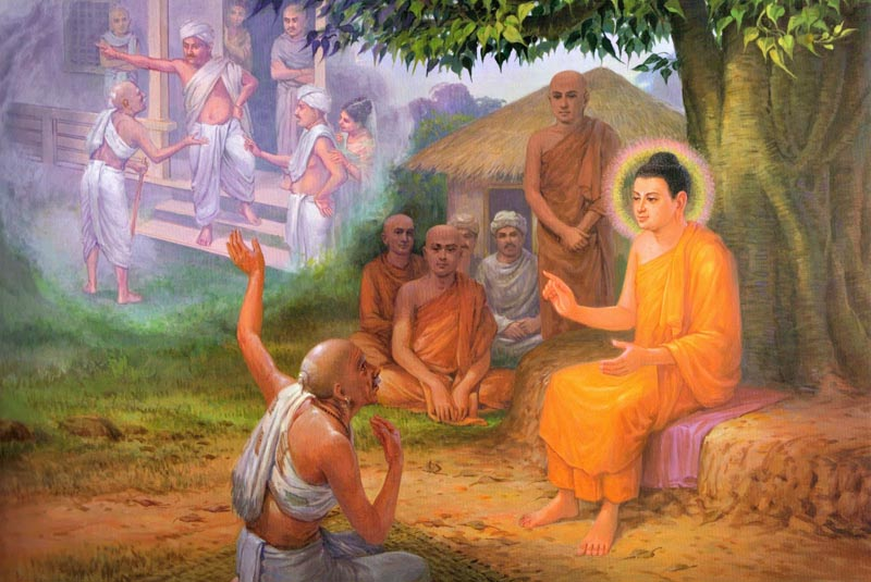 Sri Lankan Online Models The Life Of Lord Buddha In Pictures