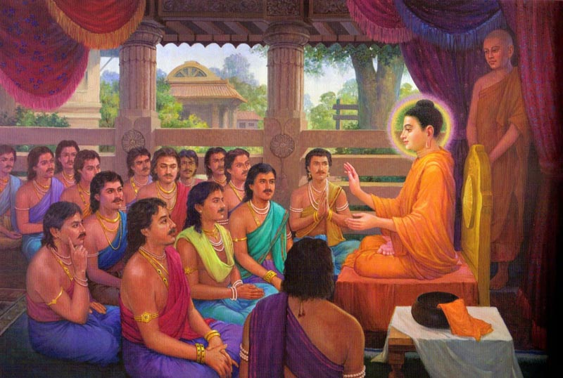 Life of the Buddha in Pictures Young Siddhartha Gautama